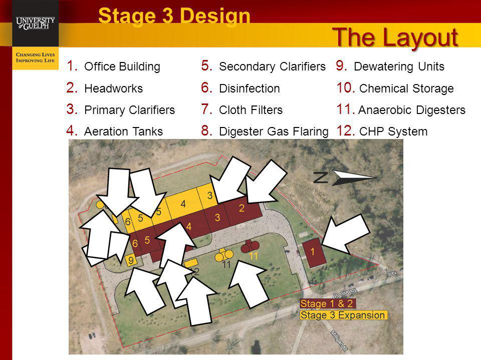 The Layout Stage 3 Design Office Building Secondary Clarifiers