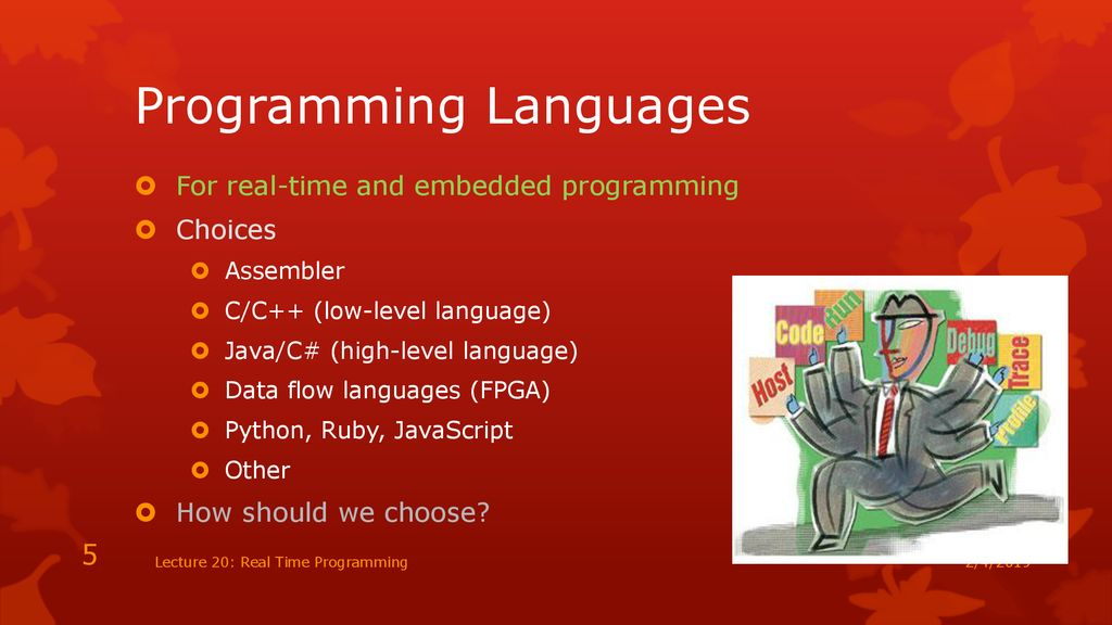 CSCI1600: Embedded and Real Time Software - ppt download