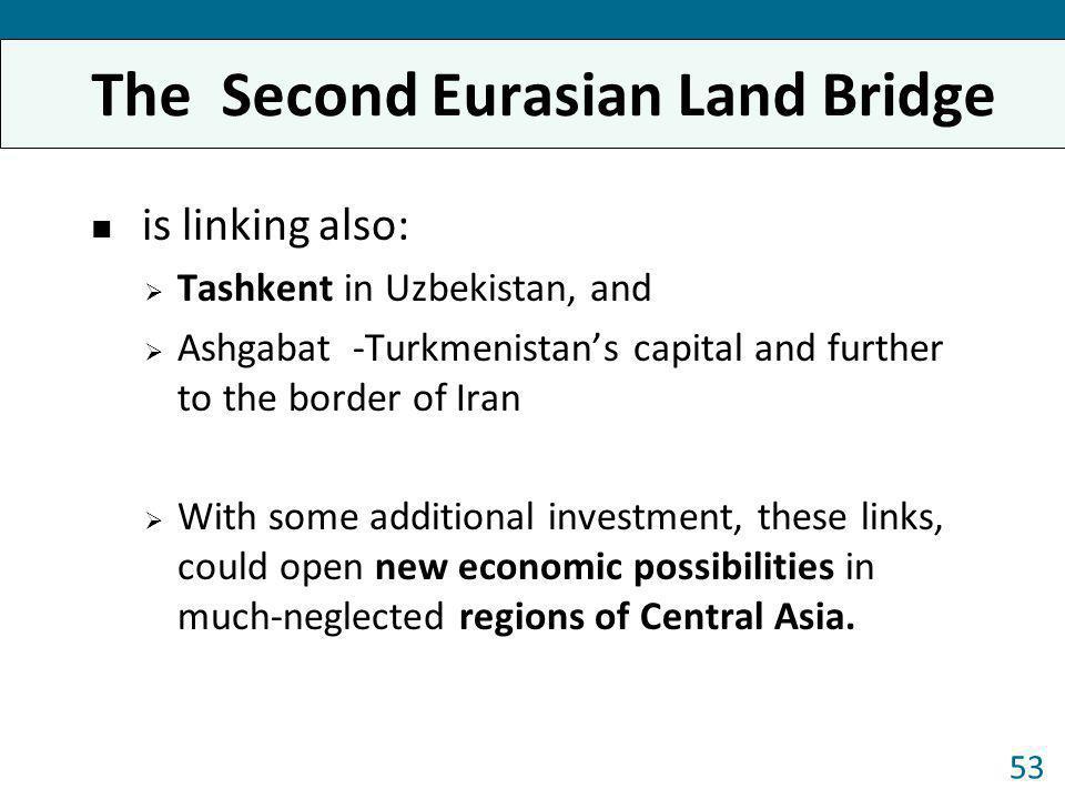 The Second Eurasian Land Bridge