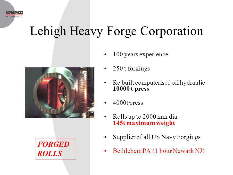 Lehigh Heavy Forge Corporation