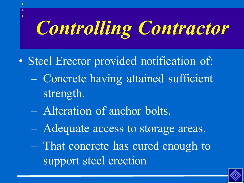 Controlling Contractor