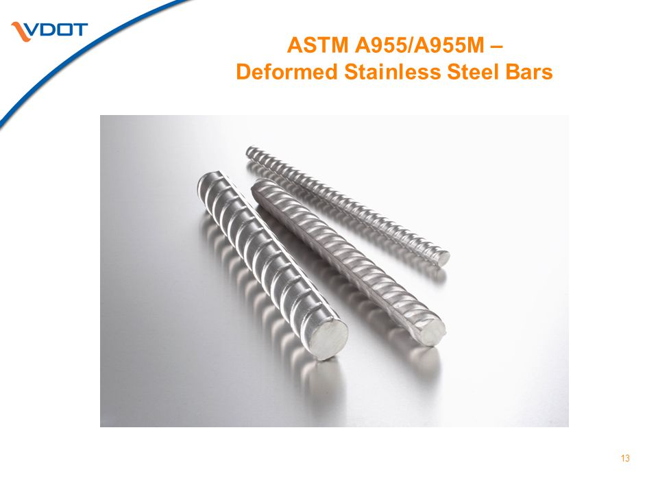 ASTM A955/A955M – Deformed Stainless Steel Bars
