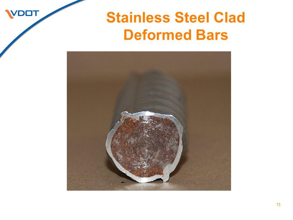 Stainless Steel Clad Deformed Bars