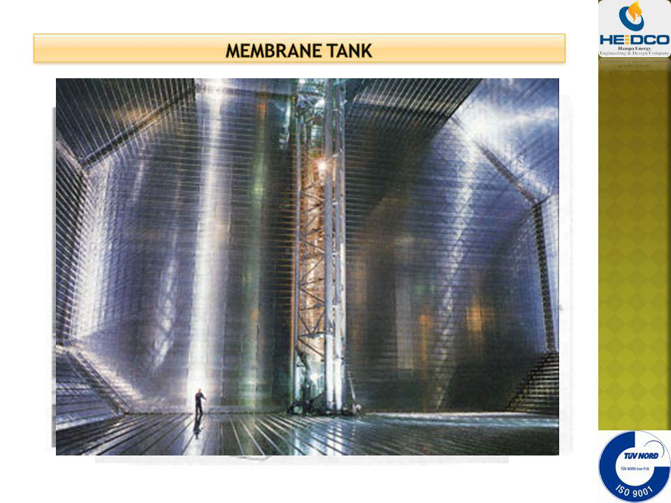 MEMBRANE TANK Marine gas carriers to LNG carriers.
