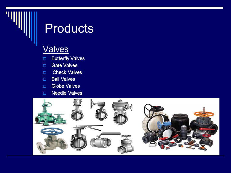 Products Valves Butterfly Valves Gate Valves Check Valves Ball Valves