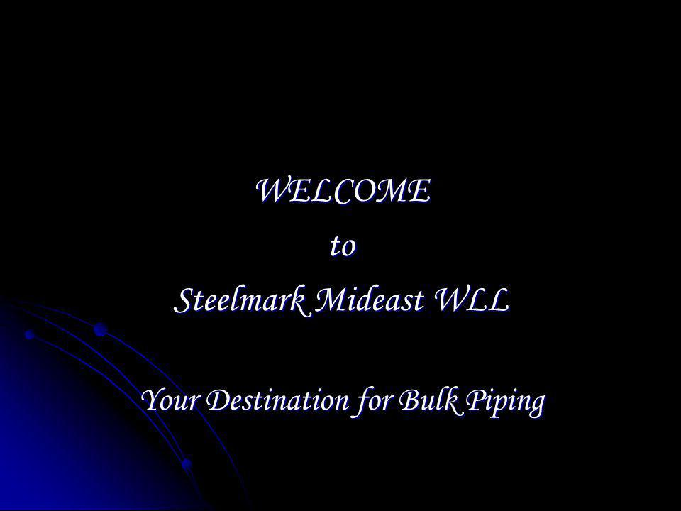 Your Destination for Bulk Piping