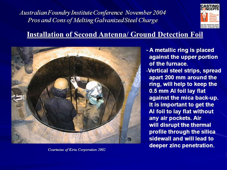 Installation of Second Antenna/ Ground Detection Foil