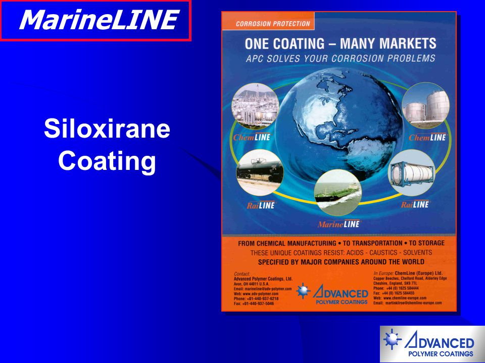 MarineLINE Siloxirane Coating