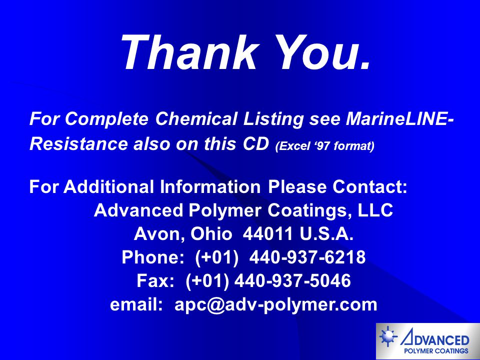 Advanced Polymer Coatings, LLC