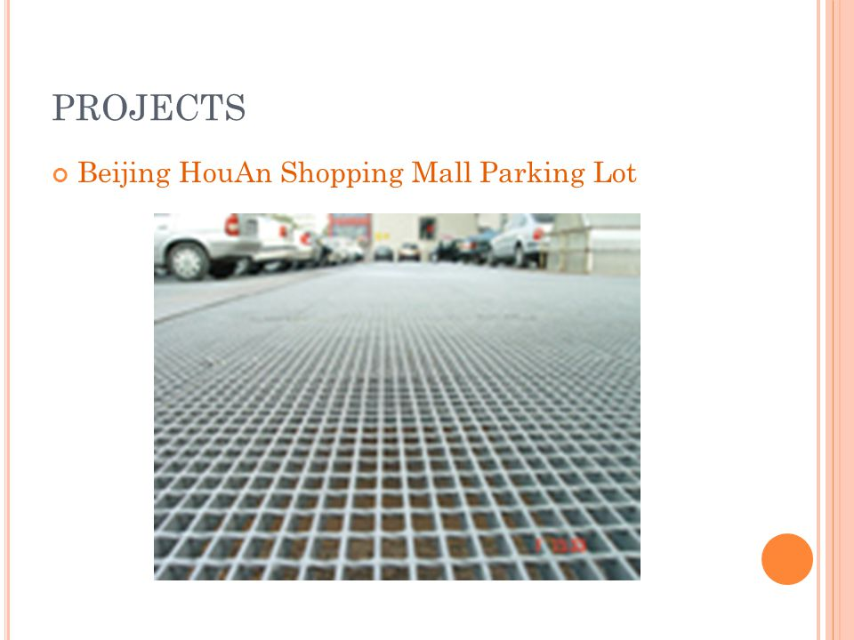 PROJECTS Beijing HouAn Shopping Mall Parking Lot