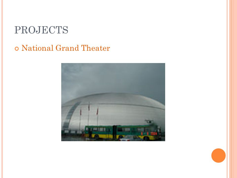 PROJECTS National Grand Theater