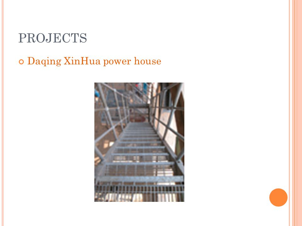 PROJECTS Daqing XinHua power house
