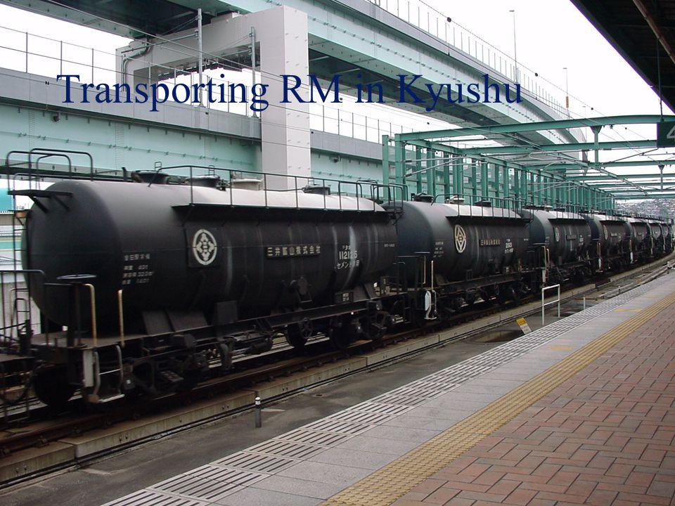 Transporting RM in Kyushu
