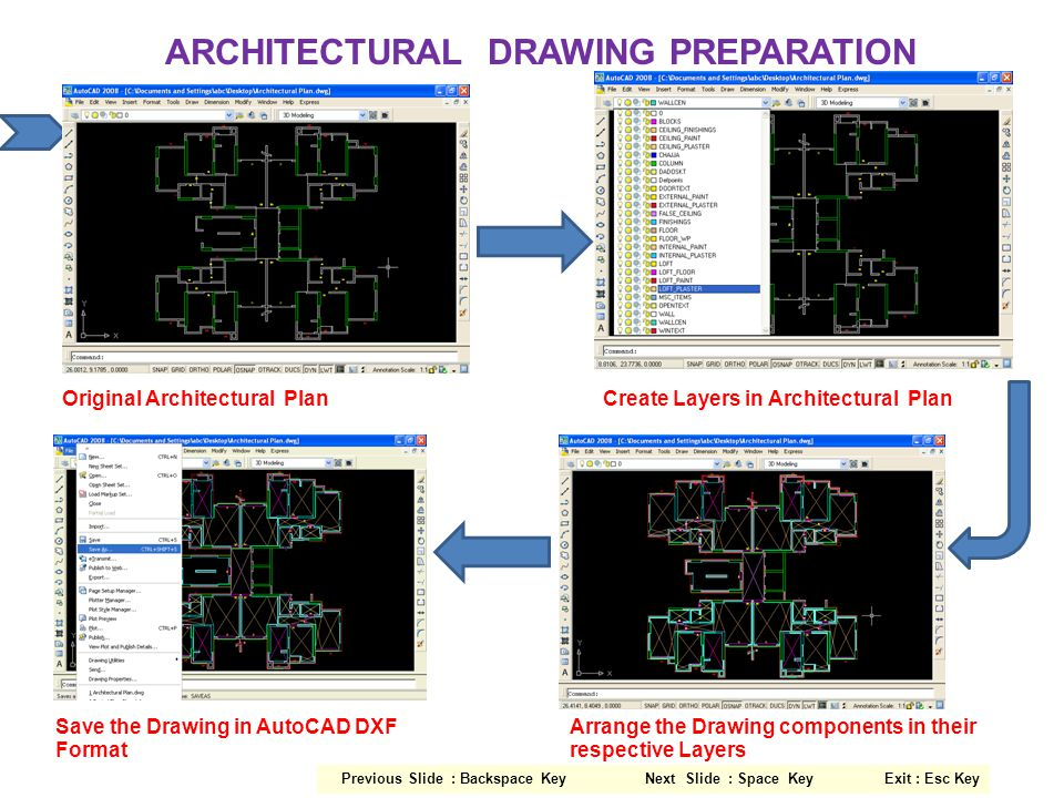 ARCHITECTURAL DRAWING PREPARATION