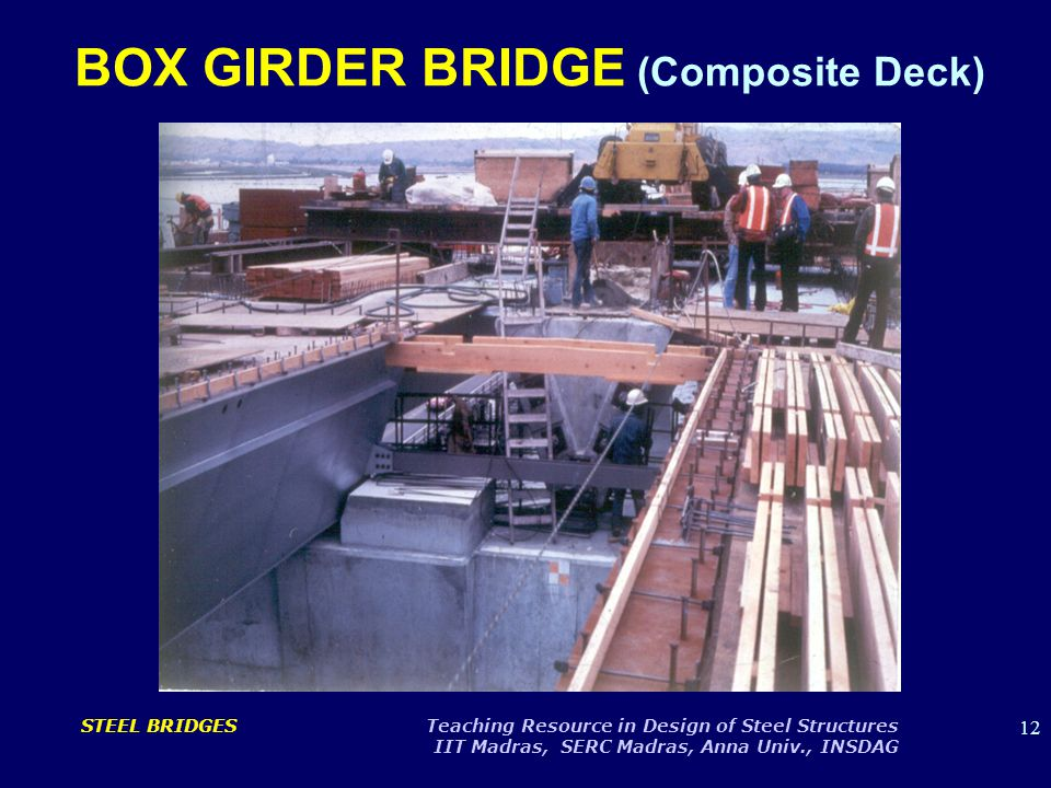 BOX GIRDER BRIDGE (Composite Deck)