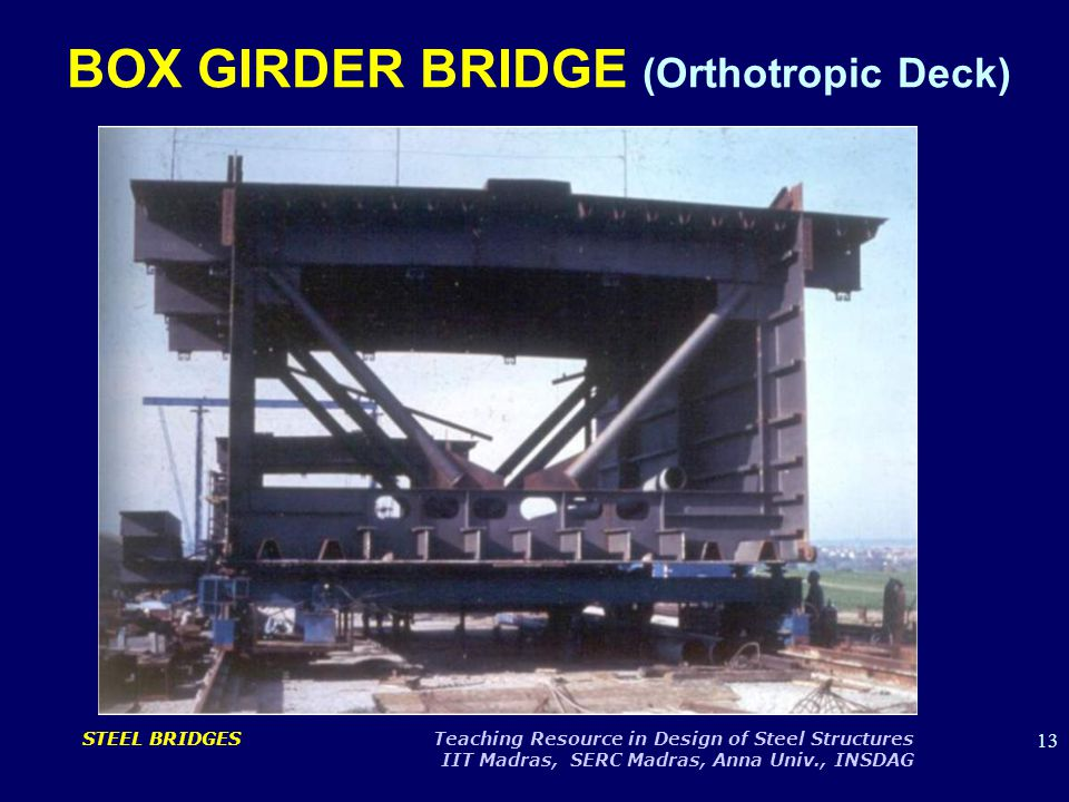 BOX GIRDER BRIDGE (Orthotropic Deck)