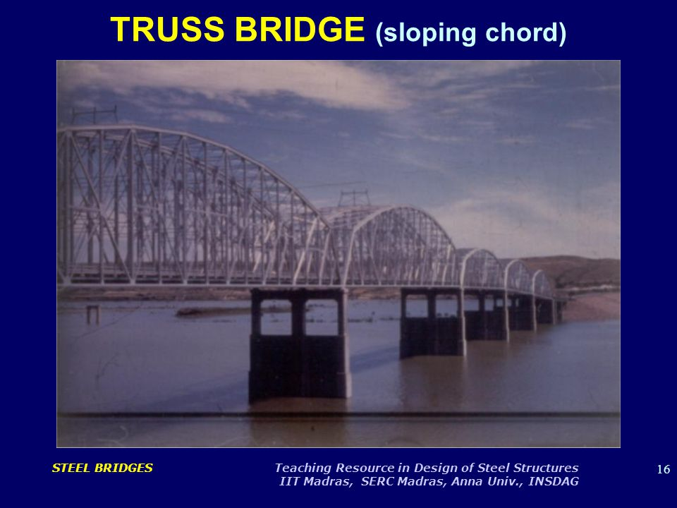 TRUSS BRIDGE (sloping chord)