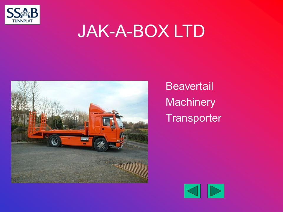 Beavertail Machinery Transporter