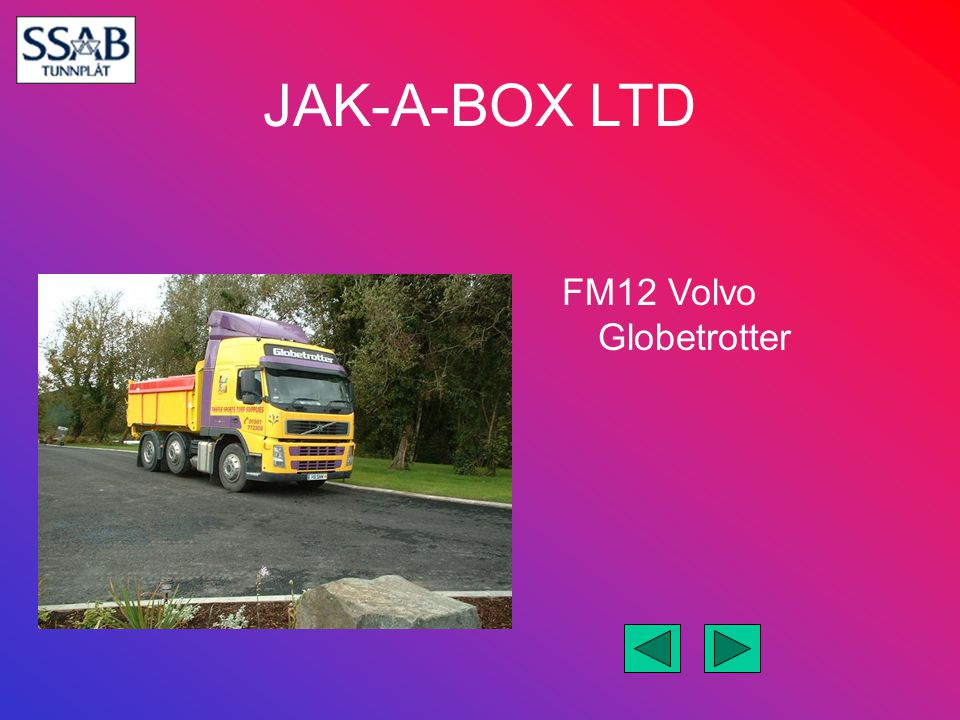 FM12 Volvo Globetrotter