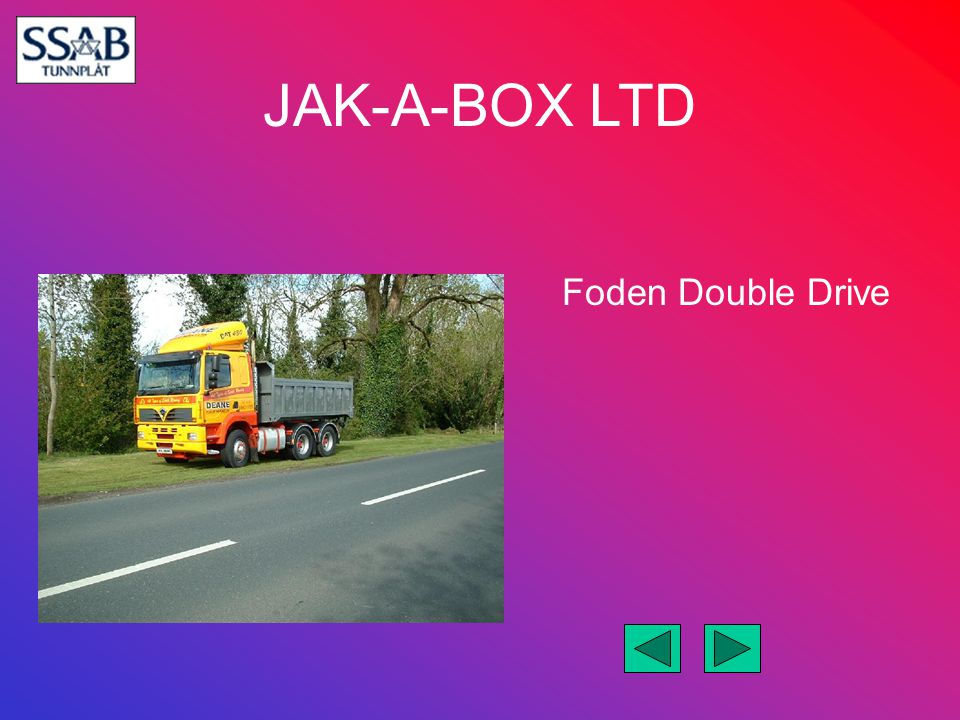 Foden Double Drive