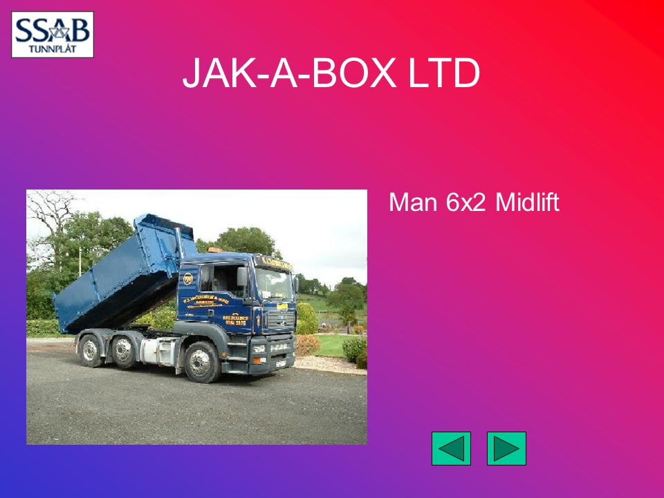 Man 6x2 Midlift
