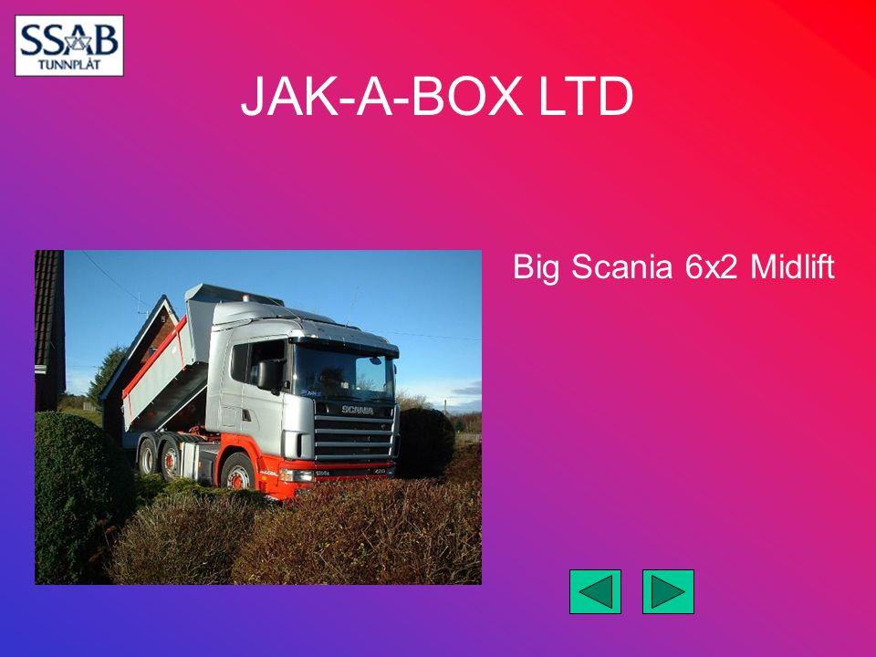 Big Scania 6x2 Midlift