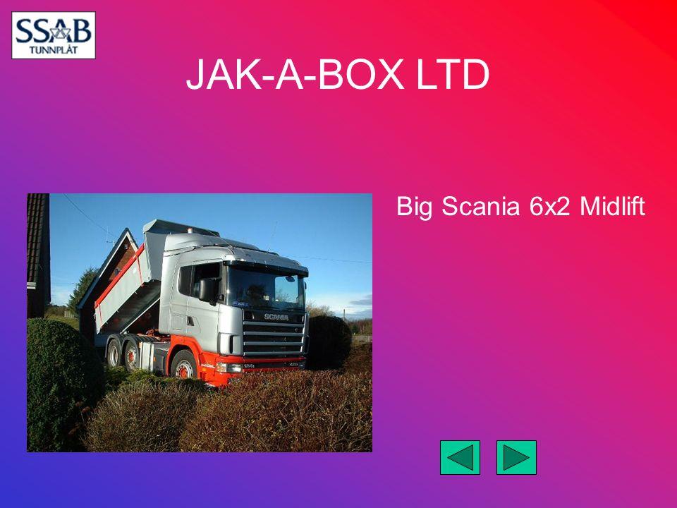 Big Scania 6x2 Midlift