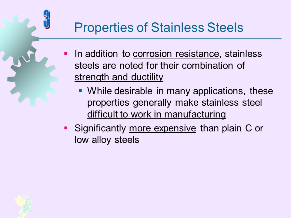 Properties of Stainless Steels