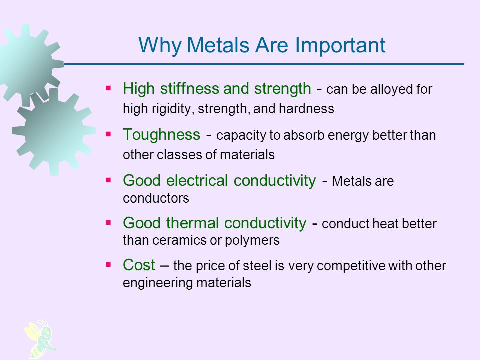 Why Metals Are Important