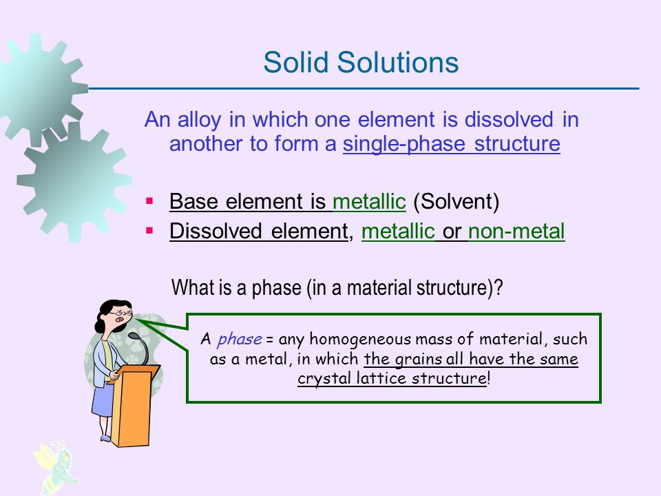 What is a phase (in a material structure)