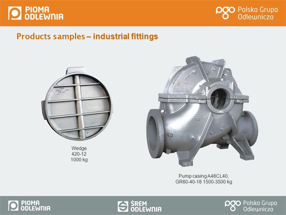 Pump casing A48CL40, GR60-40-18 1500-3500 kg