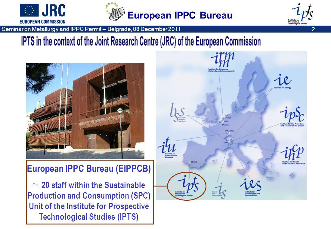 European IPPC Bureau (EIPPCB)