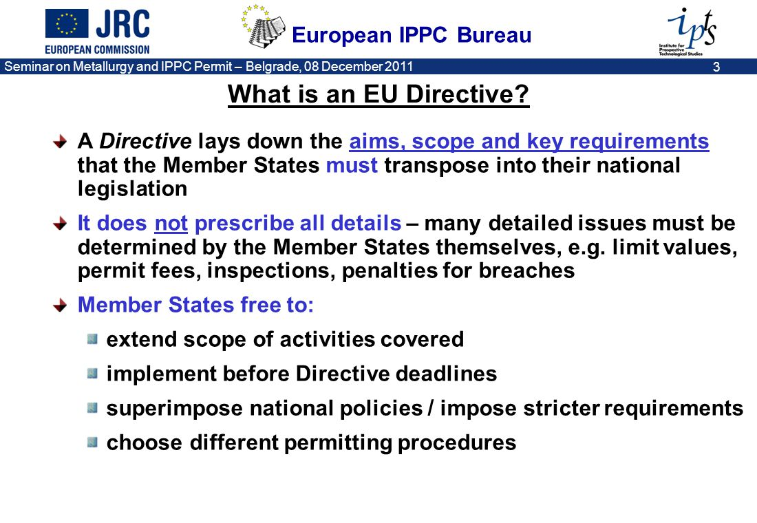 What is an EU Directive