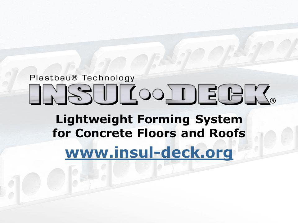 Lightweight Forming System for Concrete Floors and Roofs