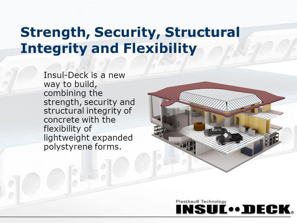 Strength, Security, Structural Integrity and Flexibility