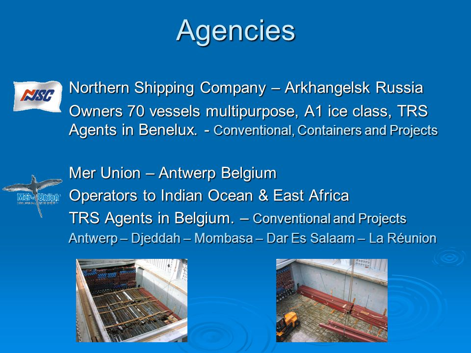 Agencies Northern Shipping Company – Arkhangelsk Russia
