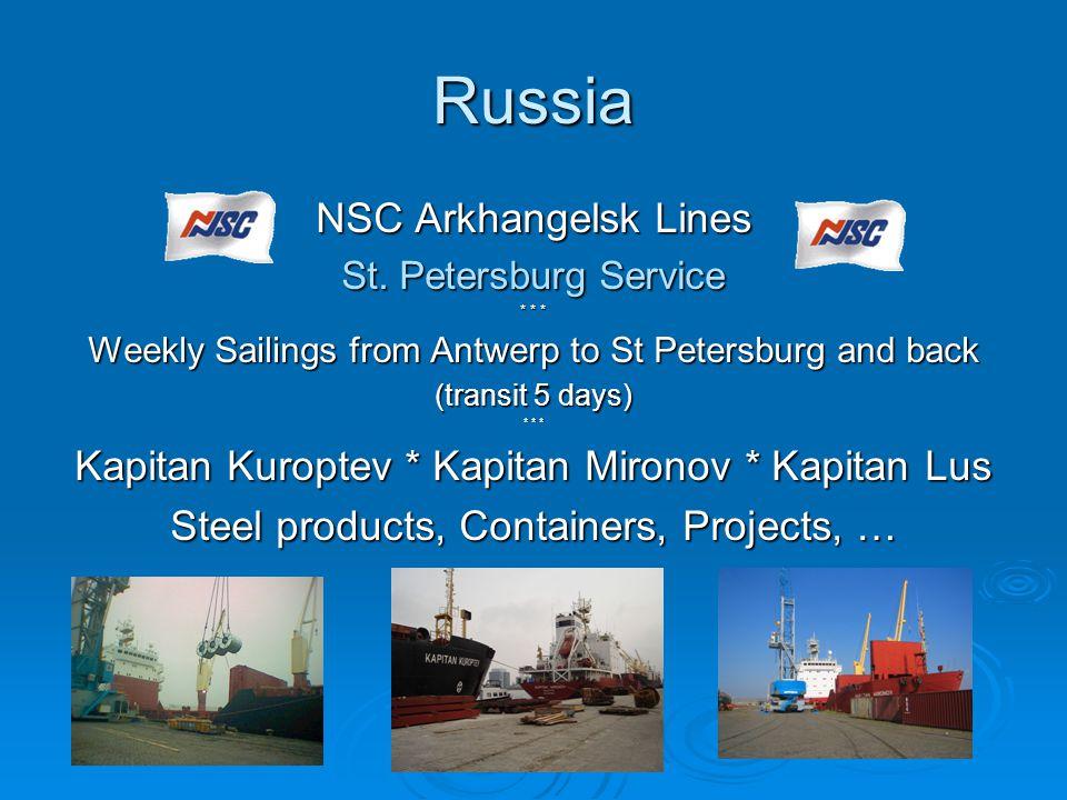 Russia NSC Arkhangelsk Lines