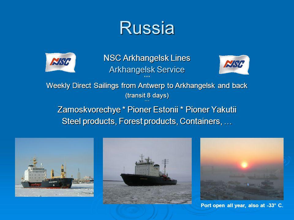 Russia NSC Arkhangelsk Lines Arkhangelsk Service