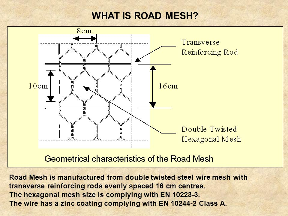 WHAT IS ROAD MESH
