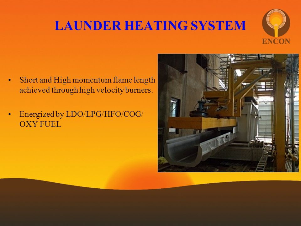 LAUNDER HEATING SYSTEM