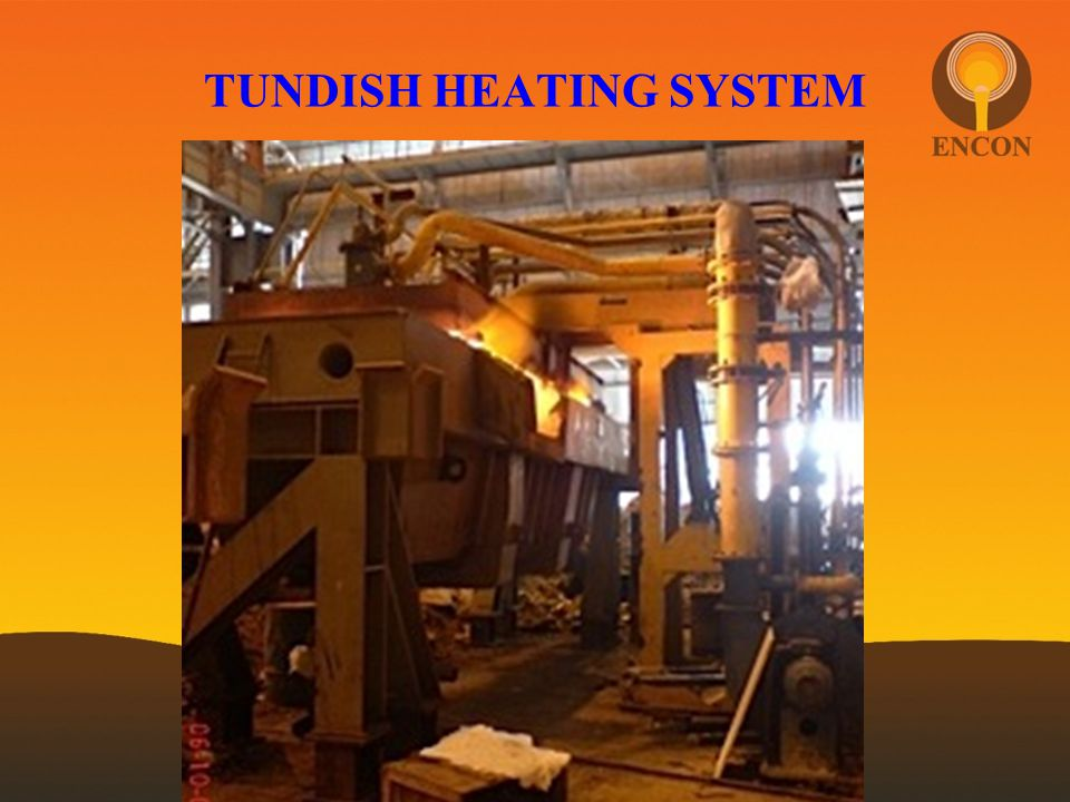 TUNDISH HEATING SYSTEM