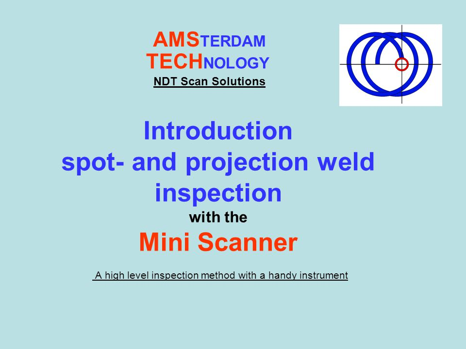 A high level inspection method with a handy instrument
