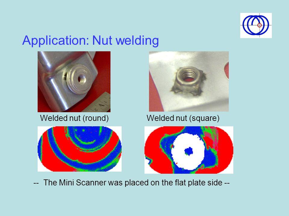 Application: Nut welding
