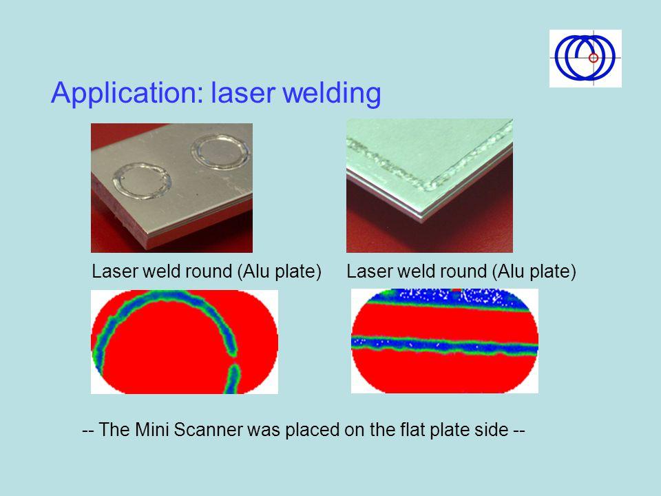 Application: laser welding