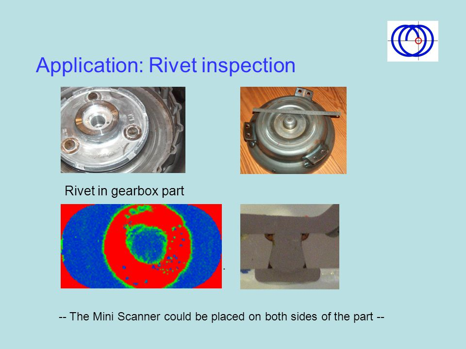 Application: Rivet inspection