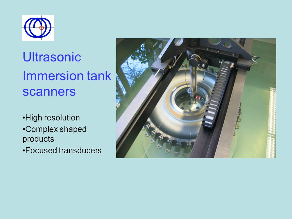 Immersion tank scanners