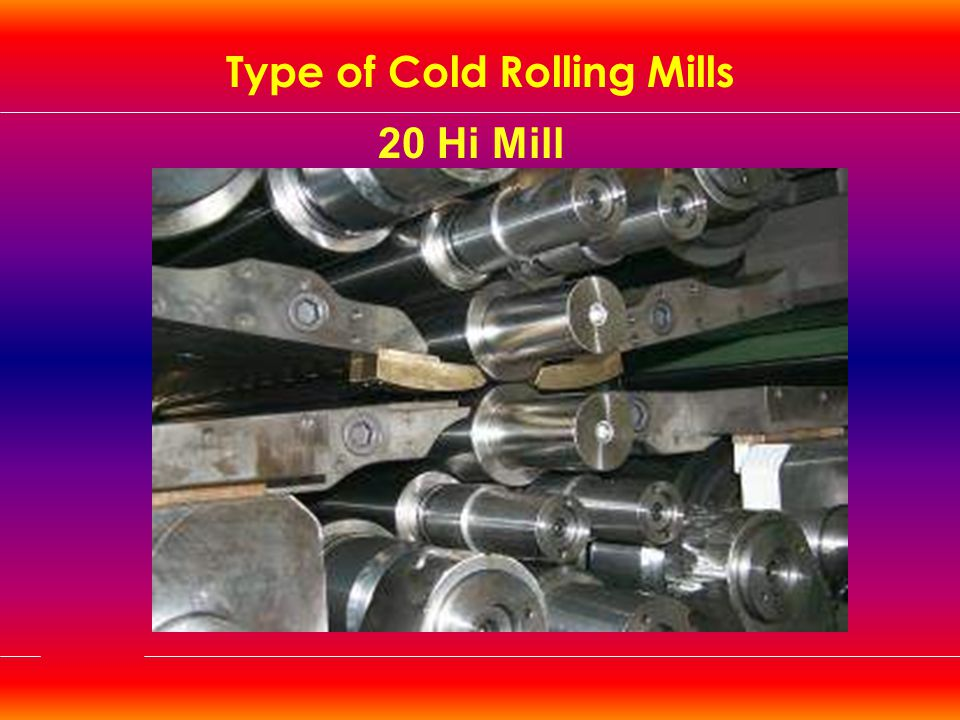 Type of Cold Rolling Mills