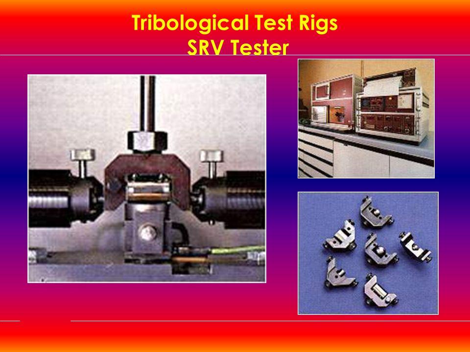 Tribological Test Rigs SRV Tester