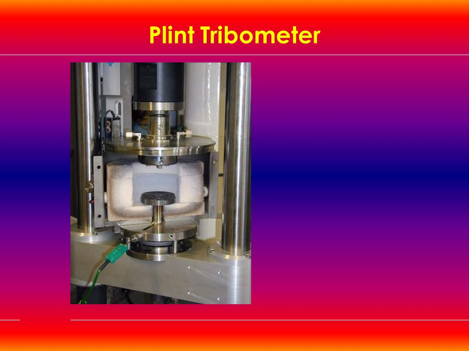 Plint Tribometer