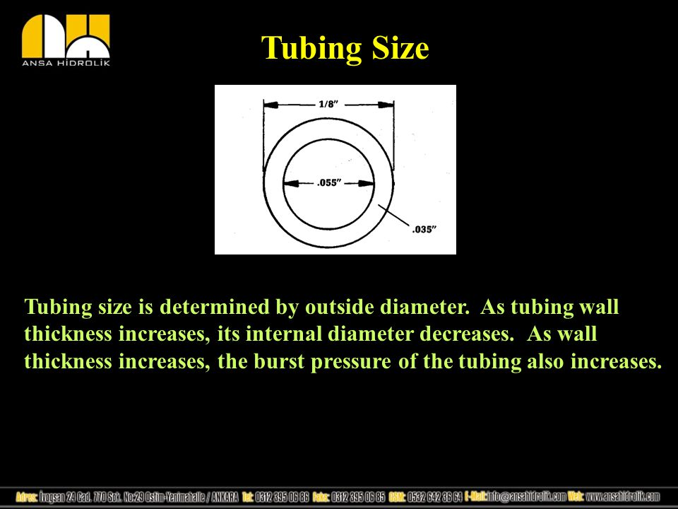 Tubing Size